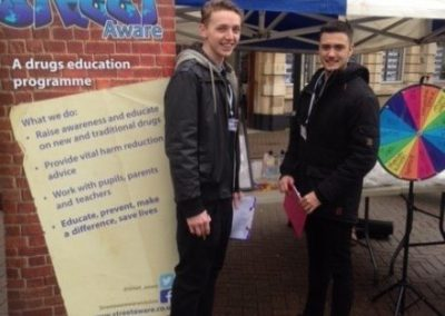 Street Aware Nuneaton Market Awareness Stall